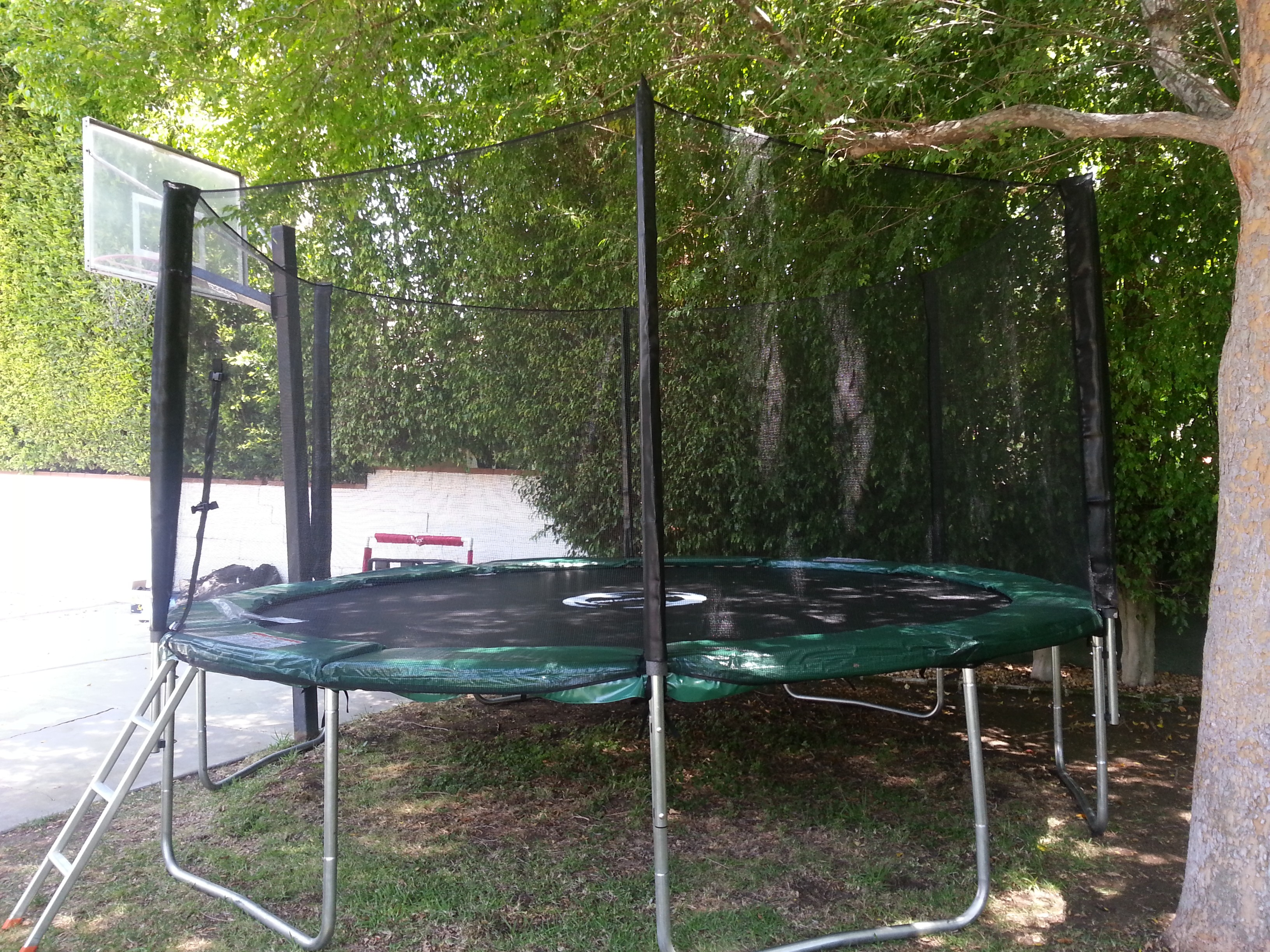14 Foot Infinity Bounce Trampoline Combo