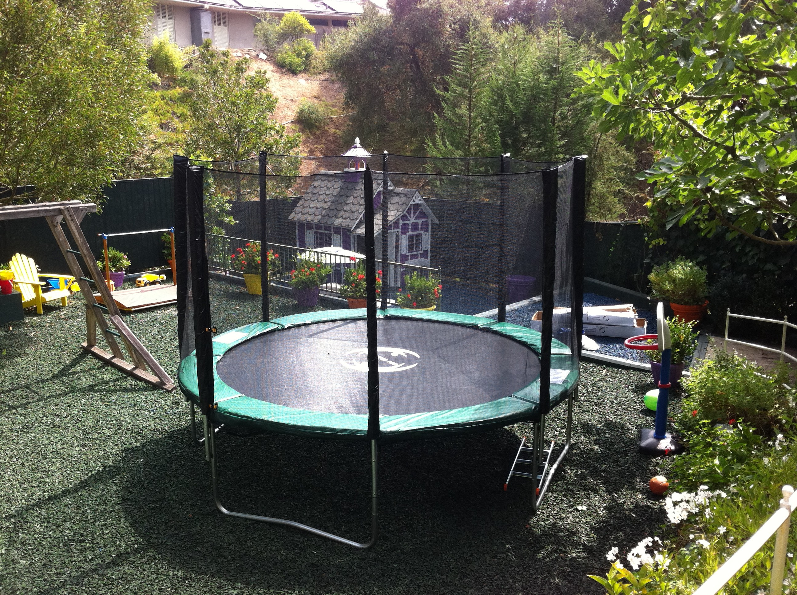 12 Foot Infinity Bounce Trampoline Combo