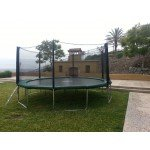 16 Foot Infinity Bounce Trampoline Heavy Duty Combo