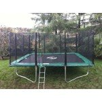 14x16 FT Infinity Bounce Trampoline Heavy Duty Combo