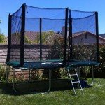 7x10 FT Infinity Bounce Trampoline Heavy Duty Combo
