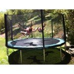 14 Foot Infinity Bounce Trampoline Heavy Duty Combo