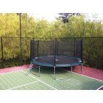 15 Foot Infinity Bounce Trampoline Heavy Duty Combo